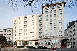 Donatus, Landgrave of Hesse - Image: Frankfurt Am Main Hessischer Hof von Suedwesten 20120309