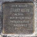 Franz Klein - Rübenkamp 78 (Hamburg-Barmbek-Nord).Stolperstein.nnw.jpg