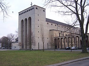Frauenfriedenskirche - View from the southwest