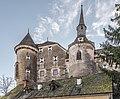 Frauenstein Schloss Frauenstein Nord-Ansicht mit Burgkapelle 14122016 5657.jpg