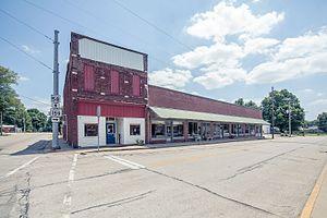 Freelandville, Indiana - Photo from Small Town Indiana photo survey.