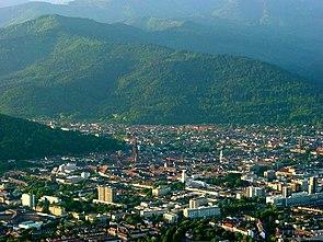 Luftbild von Freiburg