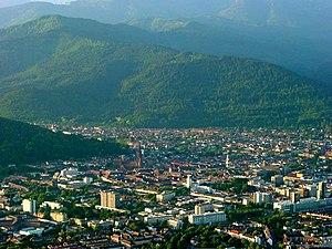 Freiburg im Breisgau - View over Freiburg