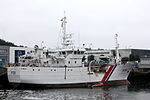 French patrol ship Le Malin (P701) moored in Concarneau harbour.jpg