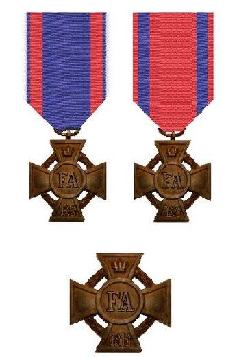 Friedrich-August-Kreuz - Insignia of the order