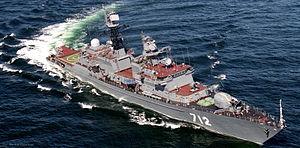 Neustrashimyy-class frigate - Image: Frigate Neustrashimy (FF 712) 188