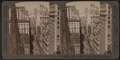 From Empire Building (n.) past Trinity Church steeple, up Broadway, New York, U. S. A., by Underwood & Underwood 4.png