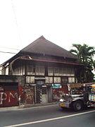 Front Facade of Lara House, Las Pi%C3%B1as