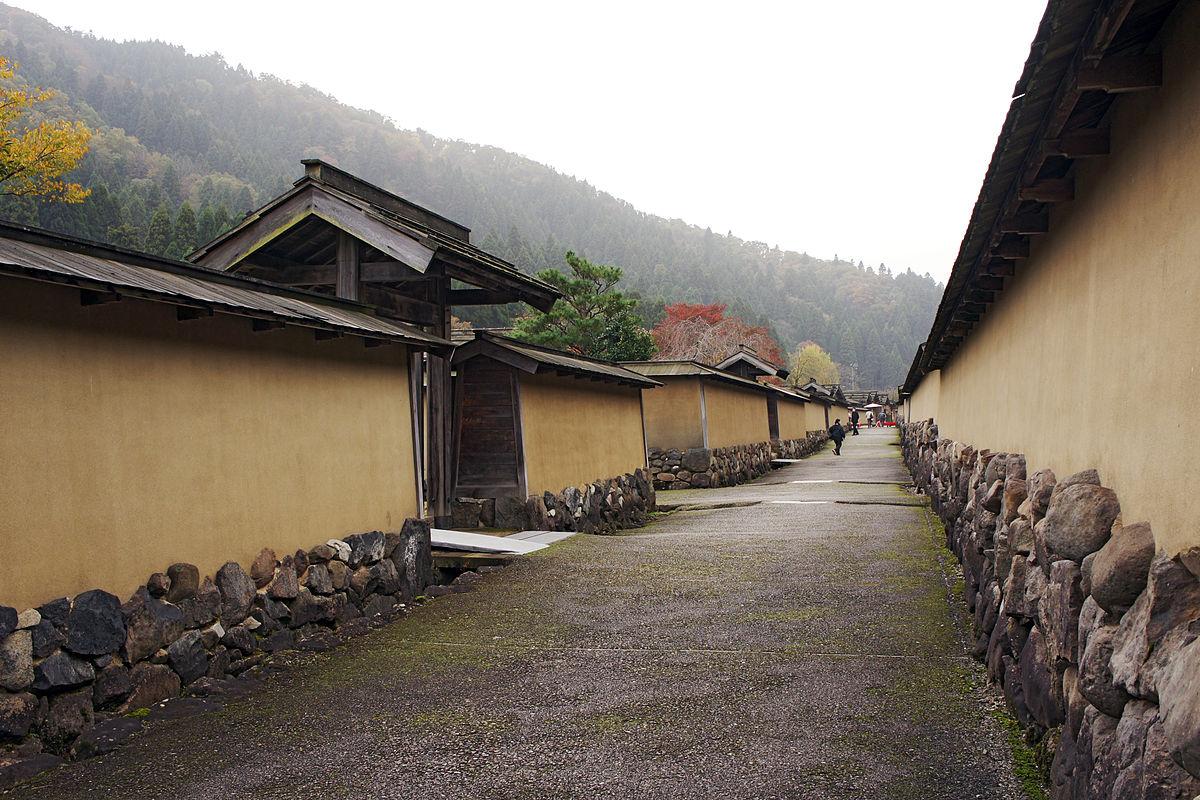 Fukugen-madhinami of Ichijodani Asakura Family Historic Ruins07s3s4500.jpg