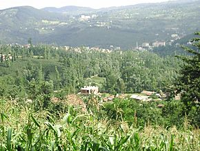 A panoramic view of Gölköy