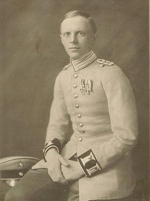 Günther von Reibnitz - Baron von Reibnitz as a lieutenant in 1918