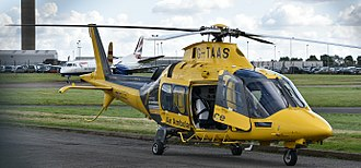 Air ambulances in the United Kingdom - G-TAAS AW109