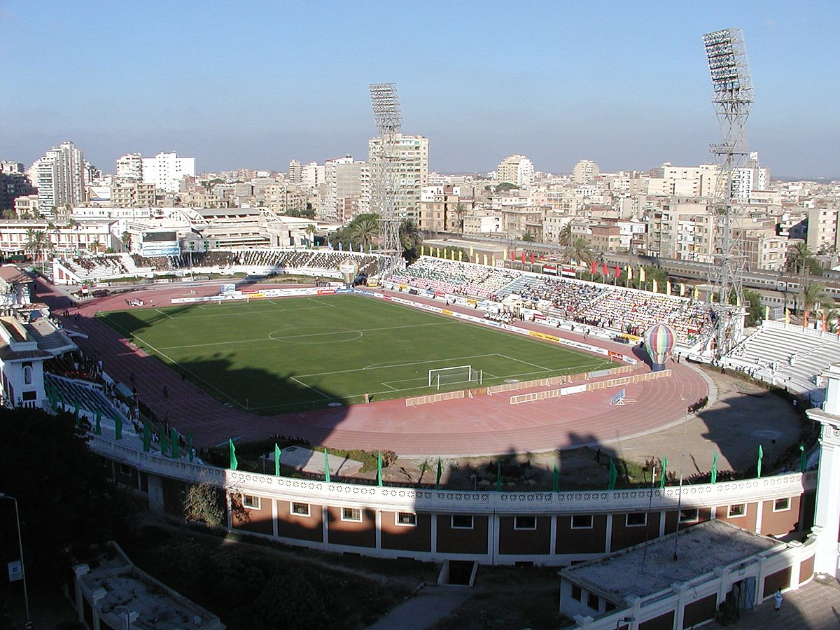 Image result for alexandria stadium egypt