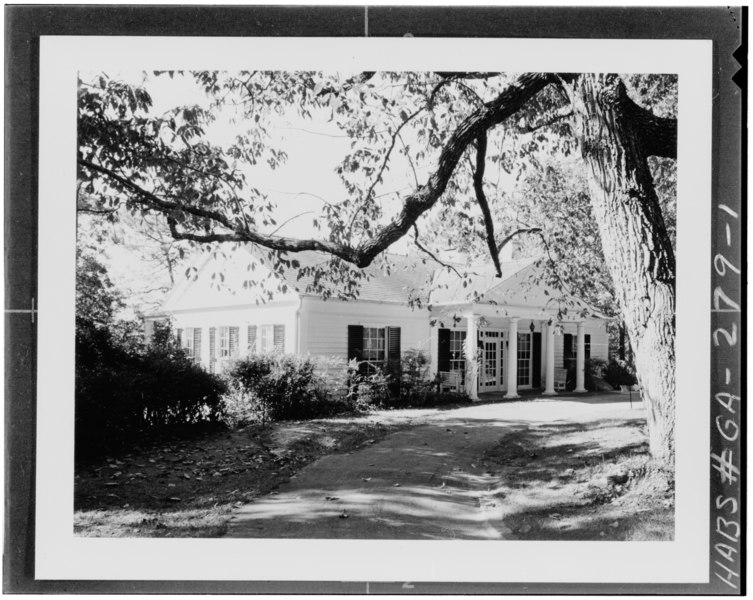 GENERAL VIEW - Roosevelt's Little White House, Georgia Highway 85-W, Warm Springs, Meriwether County, GA HABS GA,100-WASP,1-1