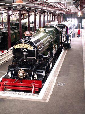 GWR 6000 Class 6000 King George V - Image: GWR King George V 04 db