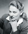 Gabrielle Roy portrait photo, 1945.png