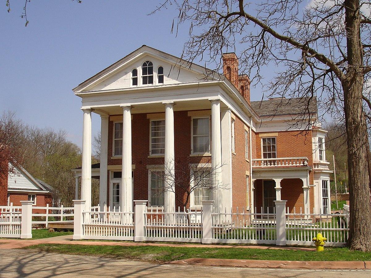 Elihu benjamin washburne house wikipedia for E house