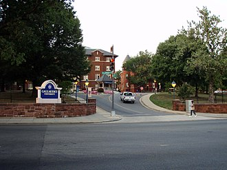 Gallaudet University - Florida Avenue entrance