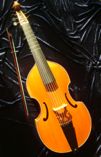 Viol Bowed, fretted and stringed instrument