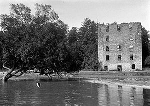 Old Mill, Toronto - View of old mill in 1913