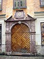 Gamla Stan. Antique door- Средневековая дверь. - panoramio.jpg