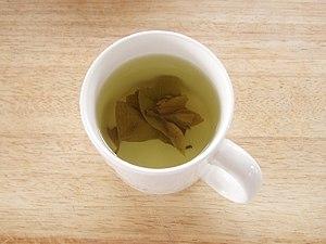 Korean tea - Image: Gamnip cha 2
