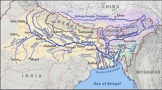 Der Ganges und seine Nebenflüsse