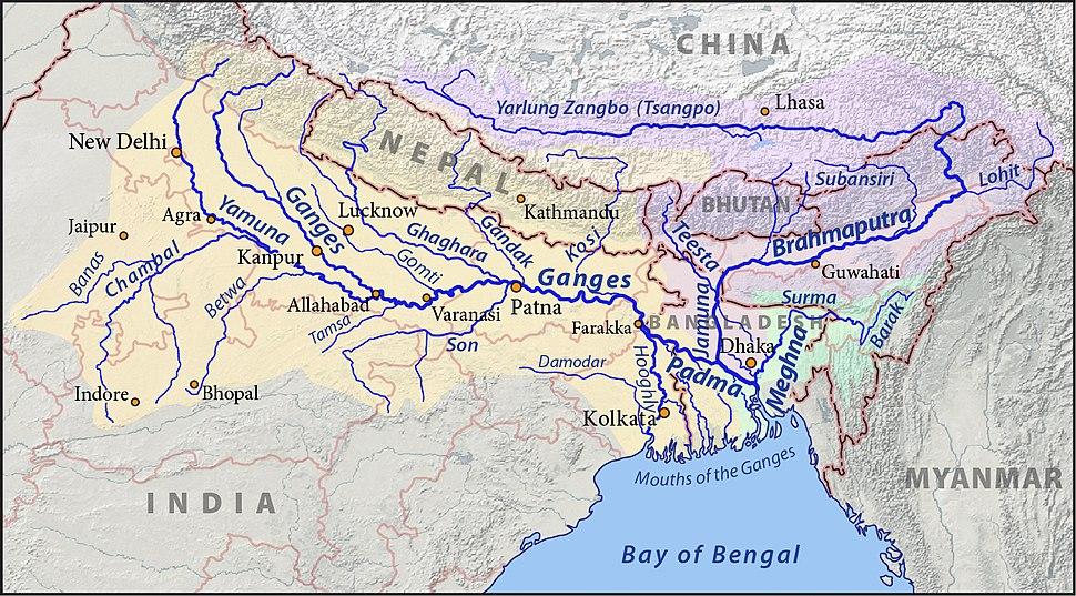 Ganges-Brahmaputra-Meghna basins