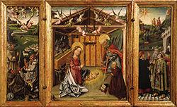 Master of Avila: Triptych of the Nativity