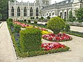 Garden at Ashridge, Hertfordshire, looking towards the Chapel. - geograph.org.uk - 228231.jpg