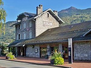 Gare d'Aime-La Plagne - Aime-La Plagne railway station