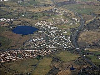 Gartcosh village in the United Kingdom