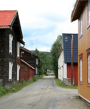 Tolga, Norway - Image: Gata Tolga