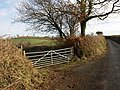 Gate to Langford Barn - geograph.org.uk - 1160520.jpg