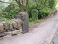Gateposts on Worrall Road, near Worrall, Sheffield - geograph.org.uk - 1166890.jpg