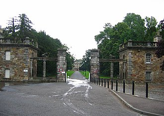 Newbattle - Gates of Newbattle Abbey