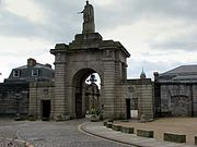 Gateway to Royal William Victualling Yard