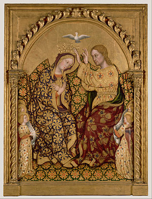 Gentile da Fabriano - Coronation of the Virgin