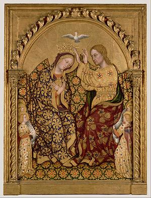 Gentile da Fabriano - Coronation of the Virgin