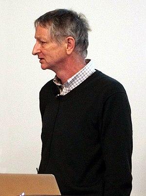Geoffrey Hinton - Image: Geoffrey Hinton at UBC