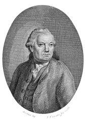 Georg Anton Benda, Kupferstich von Schröter nach Mechau[50] (Quelle: Wikimedia)