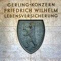 Gerling-Konzern Köln - Wappen der Friedrich Wilhelm Lebensversicherung (4241-43).jpg