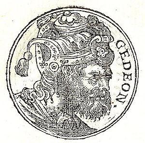 Gideon - Gideon from Promptuarii Iconum Insigniorum