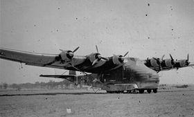 Un Me 323 en Italie en 1943