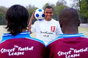 Gilberto Silva - Gilberto Silva at a photo shoot for The Street League