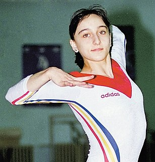 Gina Gogean Romanian artistic gymnast