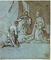Giorgione - Studio per l'Adorazione dei pastori, c. 1499, Windsor Castle.jpg