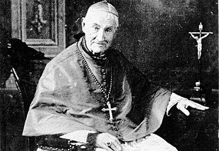 Giovanni Antonio Farina Italian bishop and canonized saint.