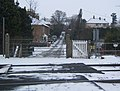 Gipsy Lane and the railway crossing - geograph.org.uk - 1144624.jpg