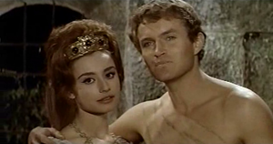 Raffaella Carrà - Carrà in Caesar the Conqueror, 1962
